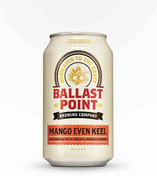 Ballast Point Mango Even Keel - $13.99 Hoppy, session ale with a mango flavor boost. 3.8% ABV