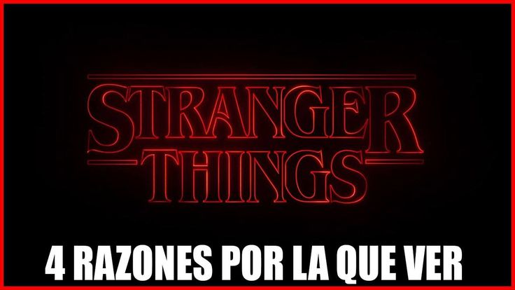 "#VR #VRGames #Drone #Gaming 4 RAZONES POR LA QUE VER ""STRANGER THINGS"" 