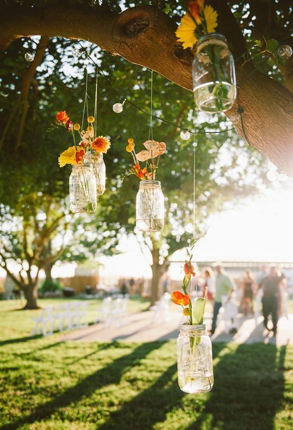 25 Best Ideas About Hanging Mason Jars On Pinterest