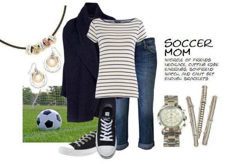 Soccer mom outfit...cute...no link.