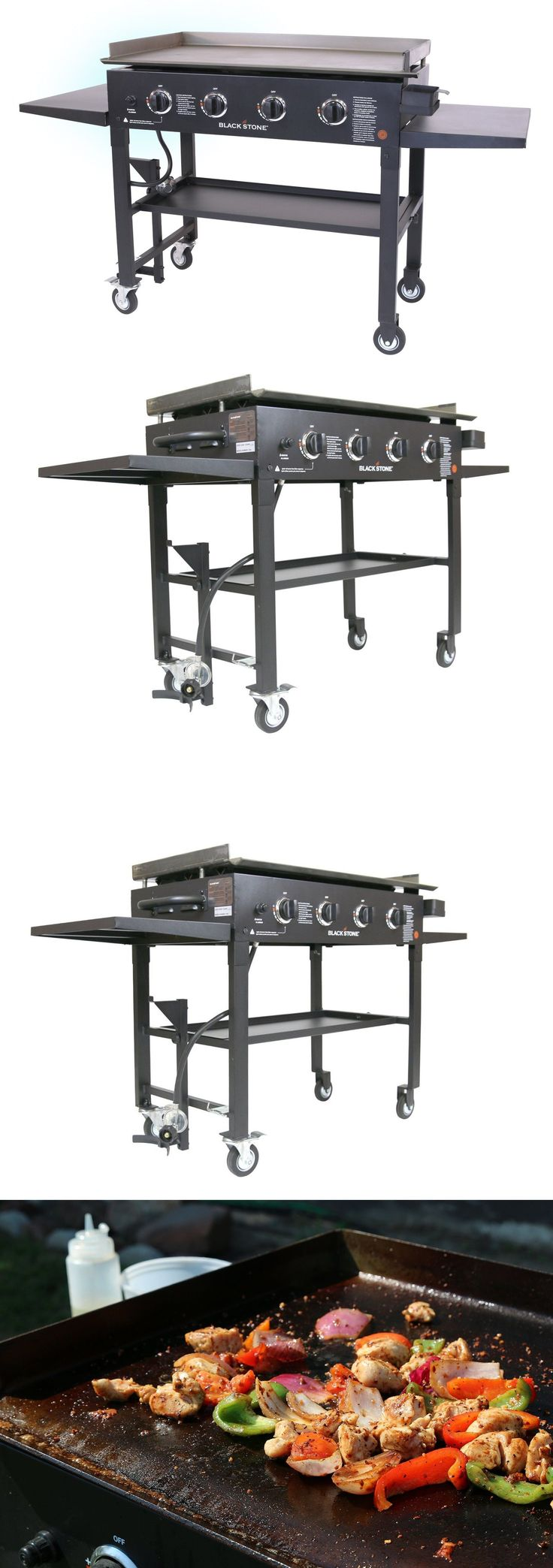 Barbecues Grills and Smokers 151621: Blackstone 36 Inch Outdoor Propane Gas Grill Griddle Cooking Station - New Item! -> BUY IT NOW ONLY: $300.87 on eBay!