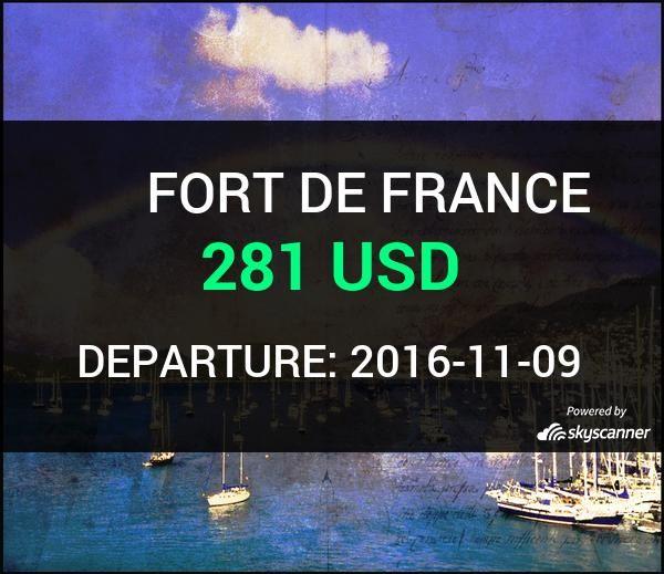 Flight from Philadelphia to Fort De France by Avia #travel #ticket #flight #deals   BOOK NOW >>>