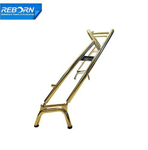 Reborn Spiral Wakeboard Tower Polished
