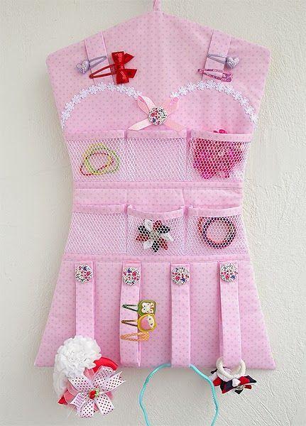 Made by Irinelli: Платье - органайзер для резинок и заколок
