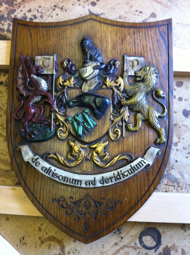A personal coat of arms