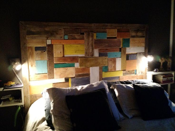 17 mejores ideas sobre cabecera pintada en pinterest - Cabecera de cama reciclada ...
