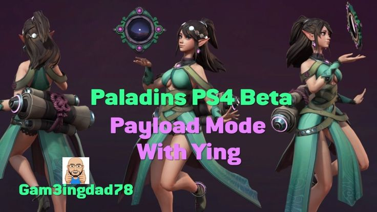 PALADINS PS4 BETA: Payload Mode with Ying