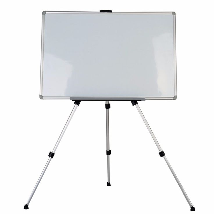 zhidian aluminum lightweight telescoping display easel magnetic dry erase white board dry erase board silver finish - Display Easel