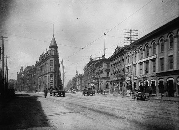 Gooderham Building (Flatiron) Toronto 1890s