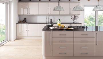 Zurfiz Ultragloss Cashmere Colour Kitchen - By BA Components