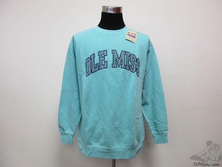 Men's Apparel : The Game Comfort Colors Mississippi Ole Miss Rebels Crewneck Sweatshirt #tcpkickz
