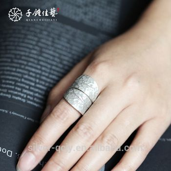 2017 fine silver 2 leaf design ring for sale View silver ring  fine jewelry OEM Product Details from Kunming Ti Kun Trading Co. Ltd. on Alibaba.com #jewelry