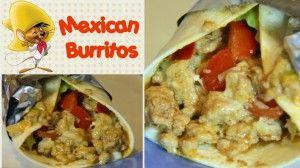 Burritos Messicani | videoricetta originale tipica facile e gustosa