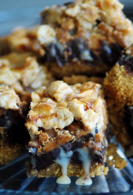 yummy six layer bars | christmas dessert recipes | Pinterest