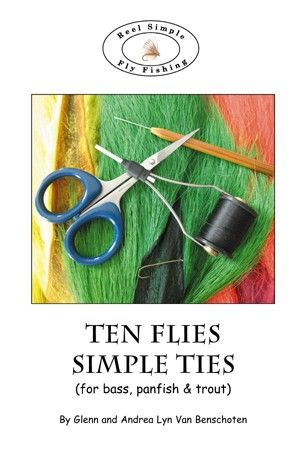 Ten Flies, Simple Ties Fly Tying Booklet