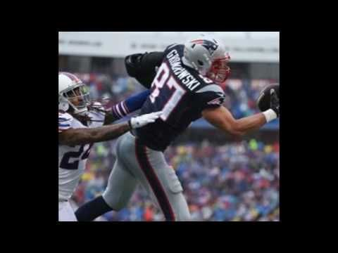 WATCH: Rob Gronkowski sets Patriots record with 69th career touchdown The Patriots have scored 31 more points than they did the last time they played the Bills. More importantly for tight end Rob Gronkowski he has set the franchise record for career touchdowns by a tight end.  Gronk scored on a 53-yard touchdown pass from Tom Brady which was Bradys second 53-yard touchdown pass of the day. For Gronkowski its his 69th career receiving score.  Brady has four touchdown passes with Gronkowski…