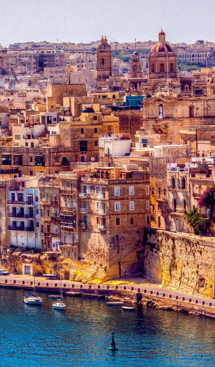 Gran vista de Malta |  Visita Malta - Un pedazo de cielo en el sur de Europa