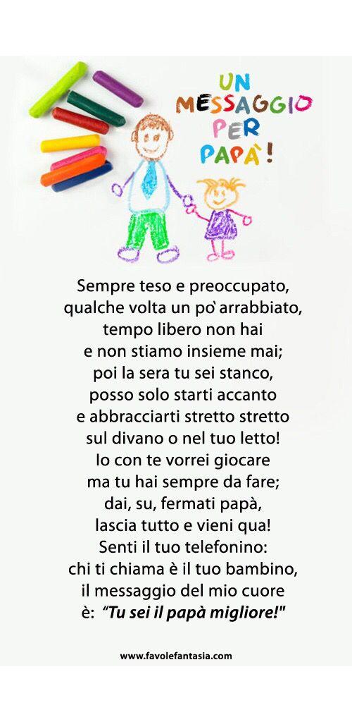 Un messaggio per papà!