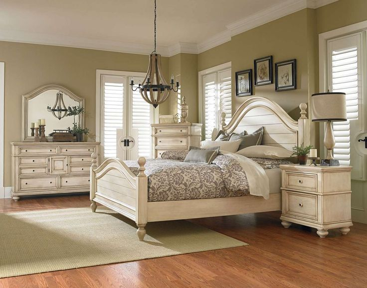 chateau 5 piece queen bedroom set ffo home