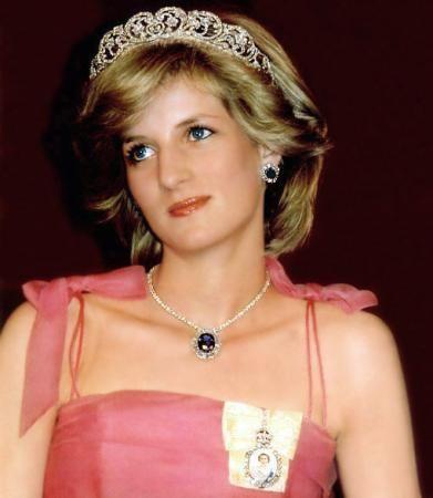 The online world: biography Princess Diana