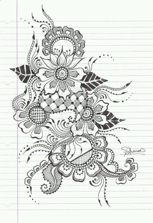 Henna tattoo lace tattoo idea things to draw for Drawing design ideas