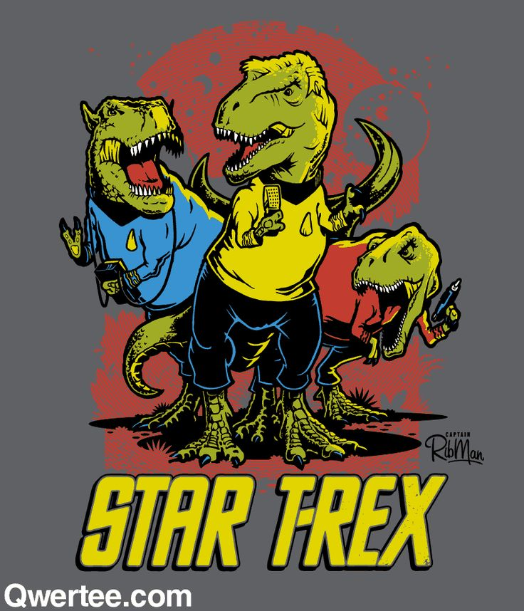 Star T-Rex | Qwertee : Limited Edition Cheap Daily T Shirts | Gone in 24 Hours | T-shirt Only £8/€10/$12 | Cool Graphic Funny Tee Shirts