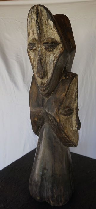 Catawiki online auction house: Bwami Society Sculpture, LEGA , Democratic Reublic of Congo