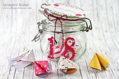 Stampinup Glückskekse; Glückskekse basteln; Geldgeschenk 18. Geburtstag; Hochzeitsgastgeschenke; Silvestergeschenke; Stempel-Biene; Stampinup Demonstrator