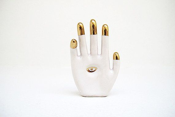 All Seeing Eye Hand Amulet by mudpuppy