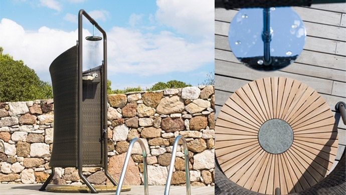 The Richmond outdoor shower is perfect for your garden or the poolside. Have a quick shower on those hot sunny days B)  #BYCANELINE