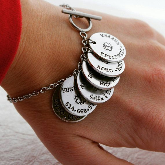 17 Best Ideas About Medical Alert Bracelets On Pinterest