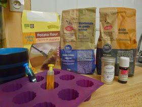 L'atelier du Lapin Masqué: DIY Des bombes de bain effervescentes