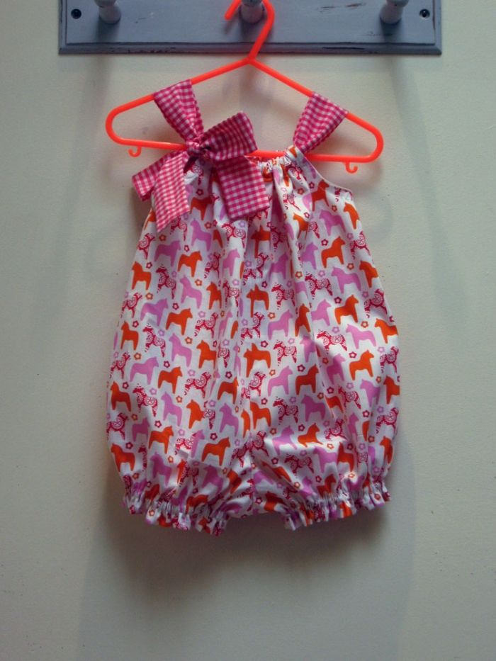 Very east to sew pattern --- Pretty Baby Romper