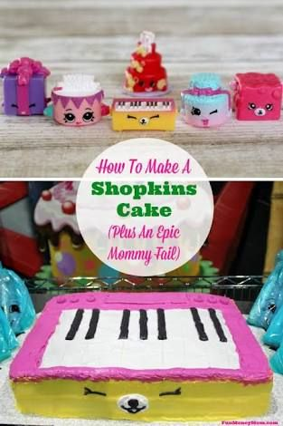 Image result for shopkins birthday cake
