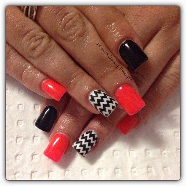 Chevron Nails ❤️