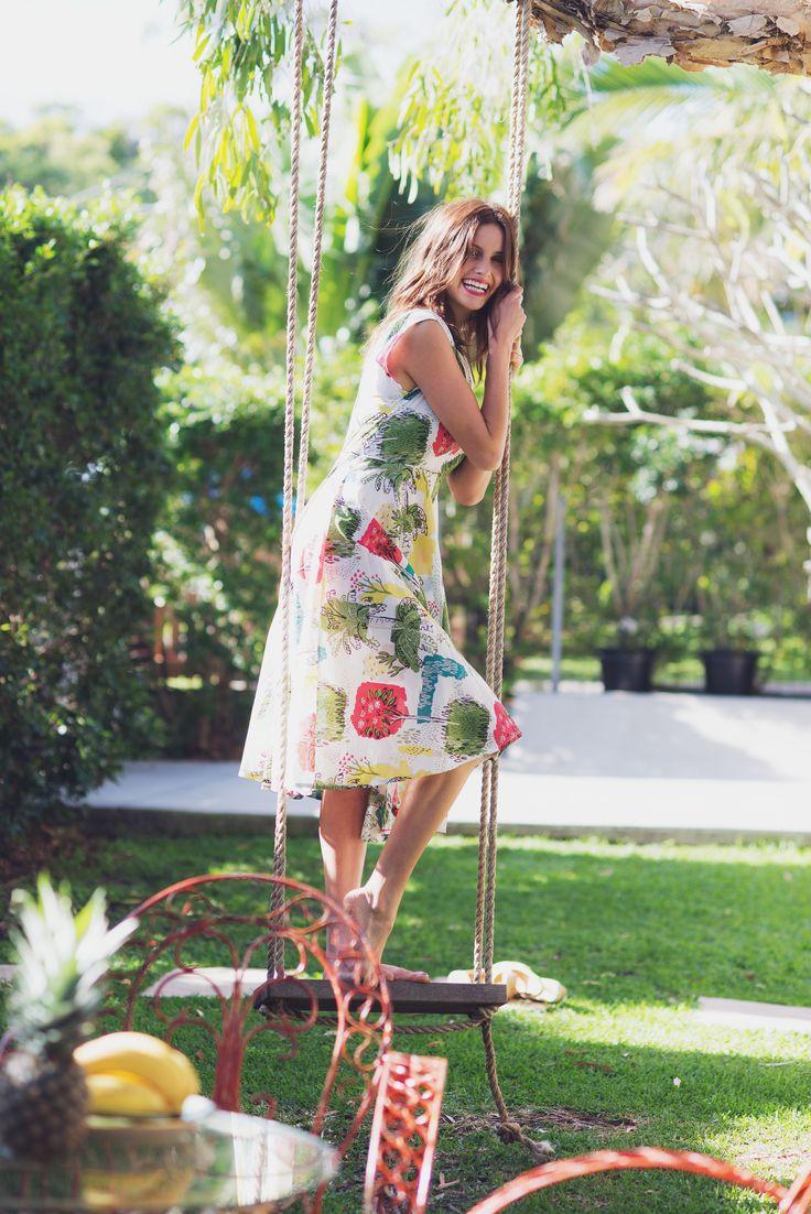 Allegra dress in Paradise