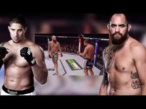 Travis Browne vs Brendan Schaub - UFC 203 Full Fight - Sep 6 2016