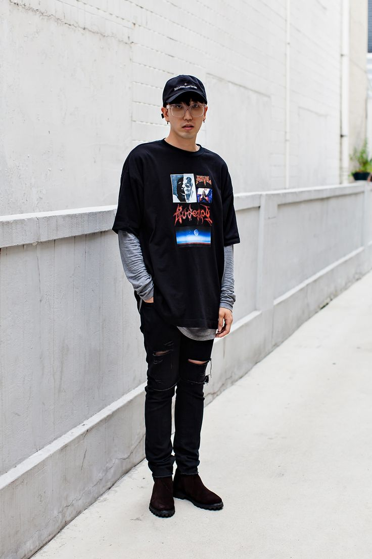 TOP | MPQ HAT | WEEDBOY94 SHOES | A.P.C Street Style Ham Sunghyun, Seoul