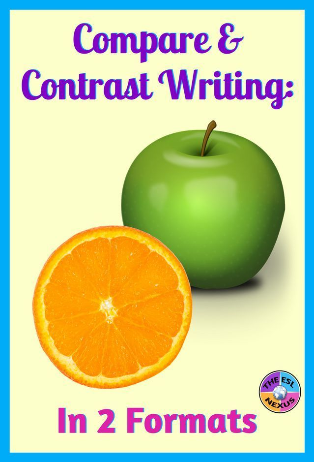 Compare And Contrast Writing In Two Formats Special Education Students List Of Transition Words Transition Words