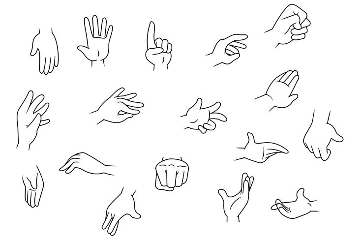 I like the different types of hand movements and will come in handy when drawing my characters.