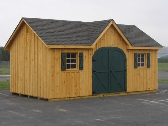 Garden Sheds Amish Storage Sheds The Great Outdoors