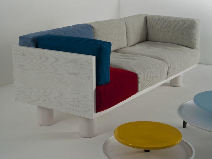 沙发 OTTOMAN SOFA M by Colé Italian Design Label 设计师Sezgin Aksu, Silvia Suardi