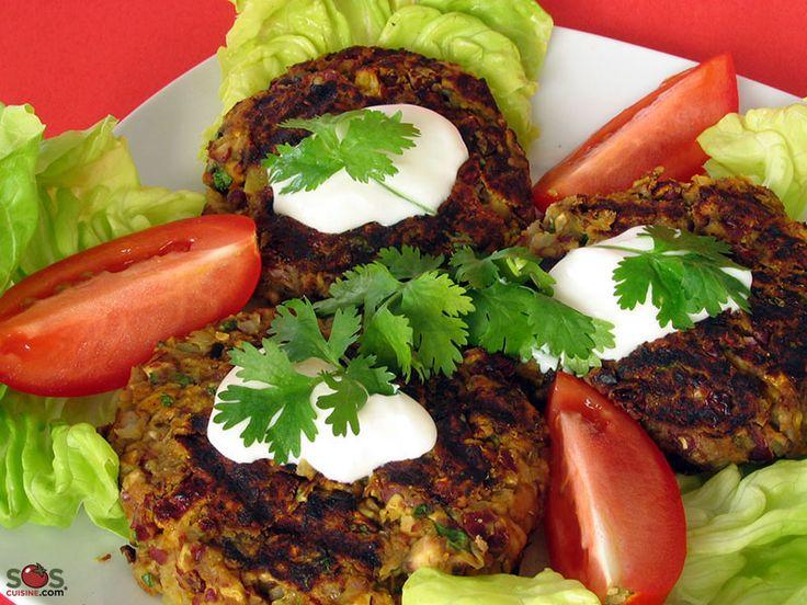 SOSCuisine: Hamburger végétarien