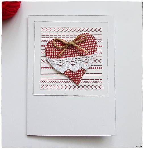 misha_cards / Ľudová valentínka