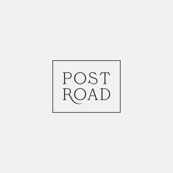 Post Road #oatdesign #studiooat: