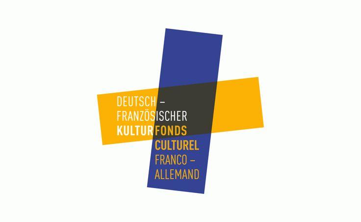 IDENTITÉ VISUELLE FONDS CULTUREL FRANCO-ALLEMAND  Le Fonds culturel franco-allemand a été créé à l'occasion de la célébration du 40e anniversaire du traité de l'Élysée en 2003. Le Fonds favorise la coopération culturelle franco-allemande à l'étranger. Il s'agissait donc de concevoir une identité visuelle porteuse de ces valeurs, en évitant les stéréotypes tels que l'utilisation de symboles ou couleurs nationales.