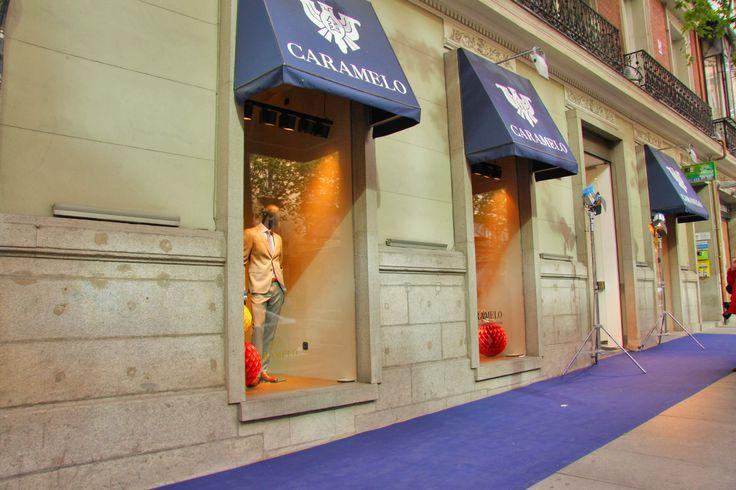 Tienda Caramelo en la c/Serrano #evento