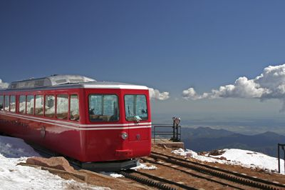 Pikes Peak Cog Railway - Pikes Peak Train