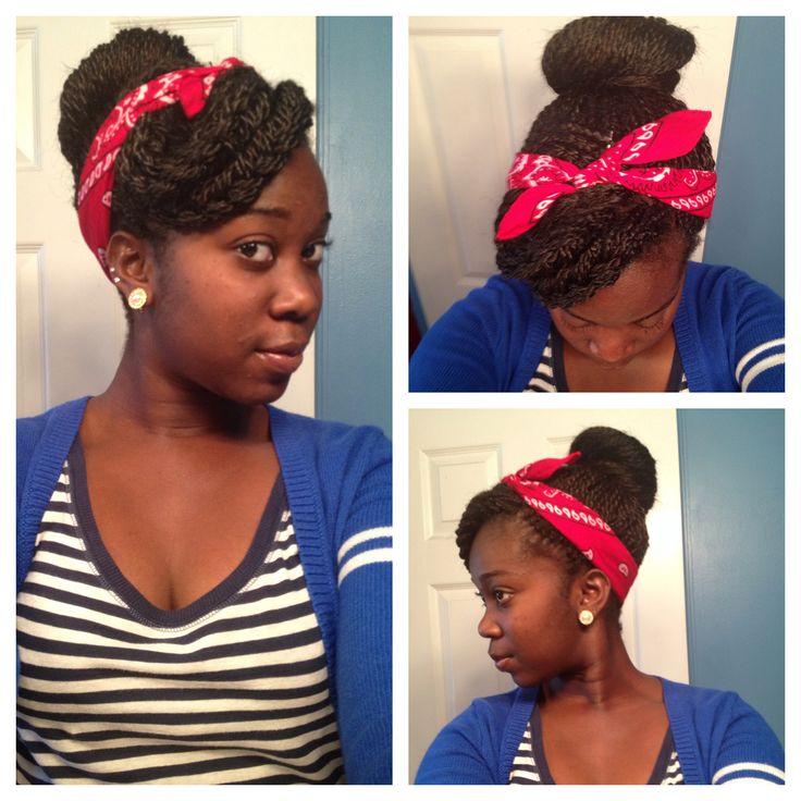 Model KnotTwistHairstylesForBlackPeople Natural Hairstyles  Spotlight