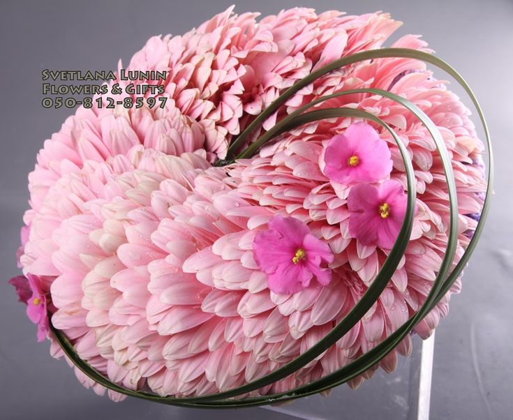 glamelia - composite flowers or fantasy flowers - wedding bouquets designed by Svetlana Lunin